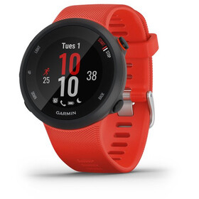 Garmin Forerunner 45 GPS Smartwatch, black/lava red